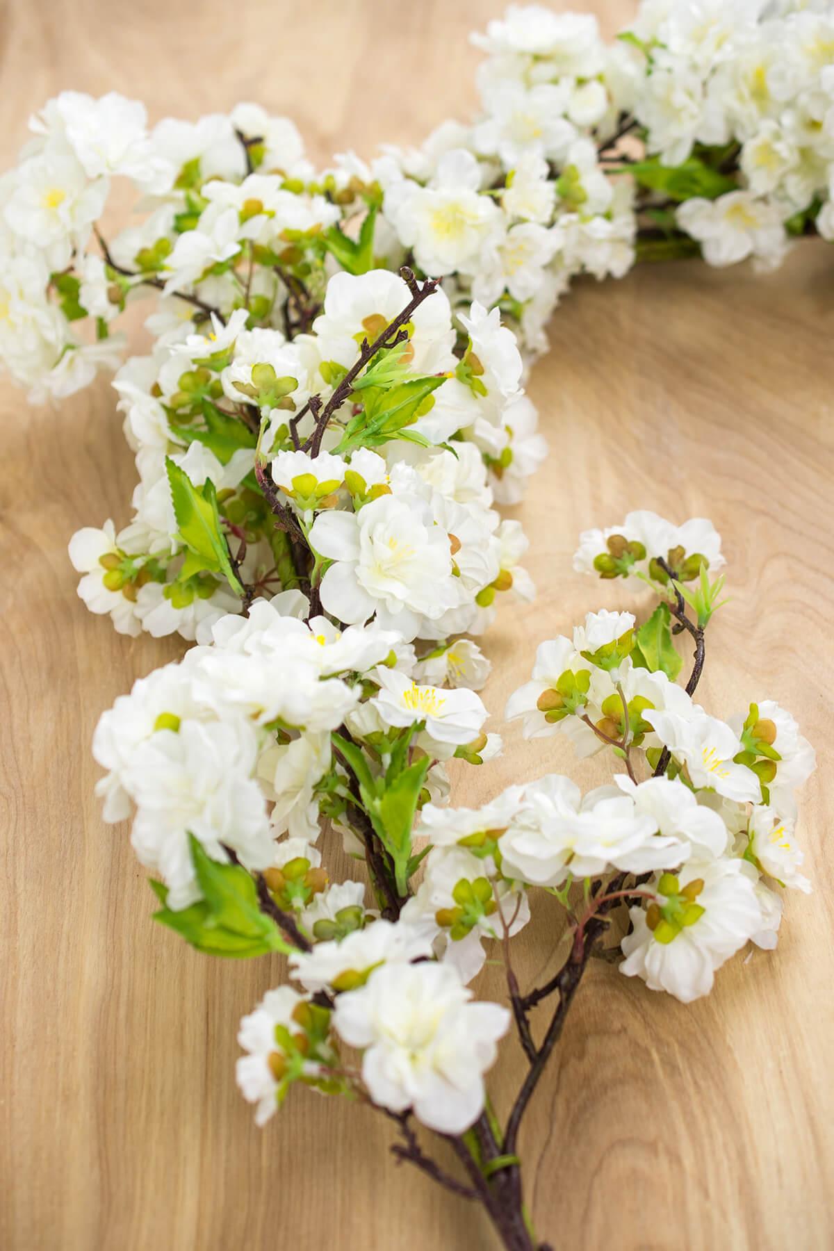 Deluxe White Cherry Blossom Garlands