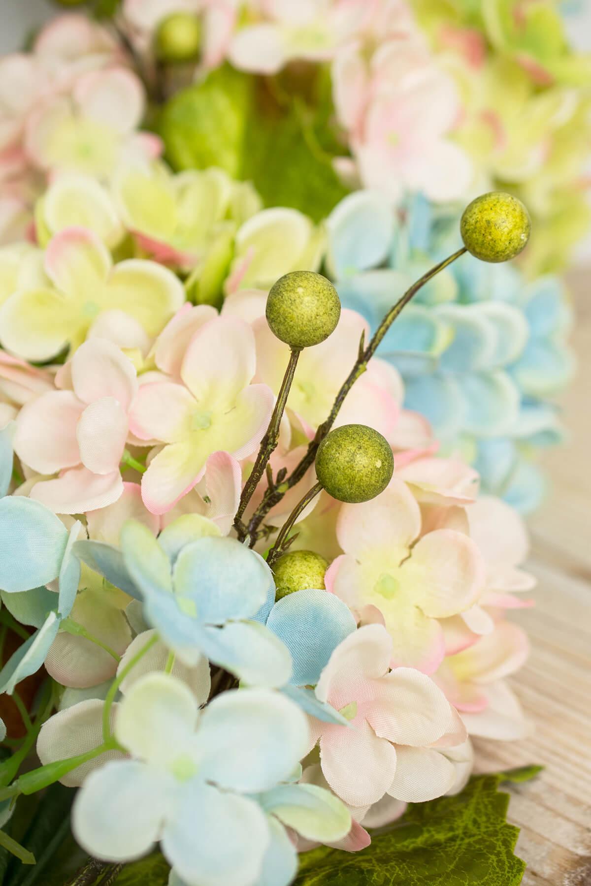 Garland Hydrangea 4ft Mixed Pastels
