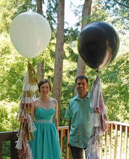 Giant Balloons and Tassel Fringe