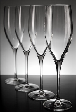 Anchor Hocking Stolzle Classic Champagne Flute (Set of 4)