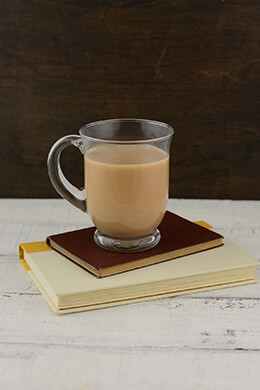 Glass Coffee Mug 4x5in