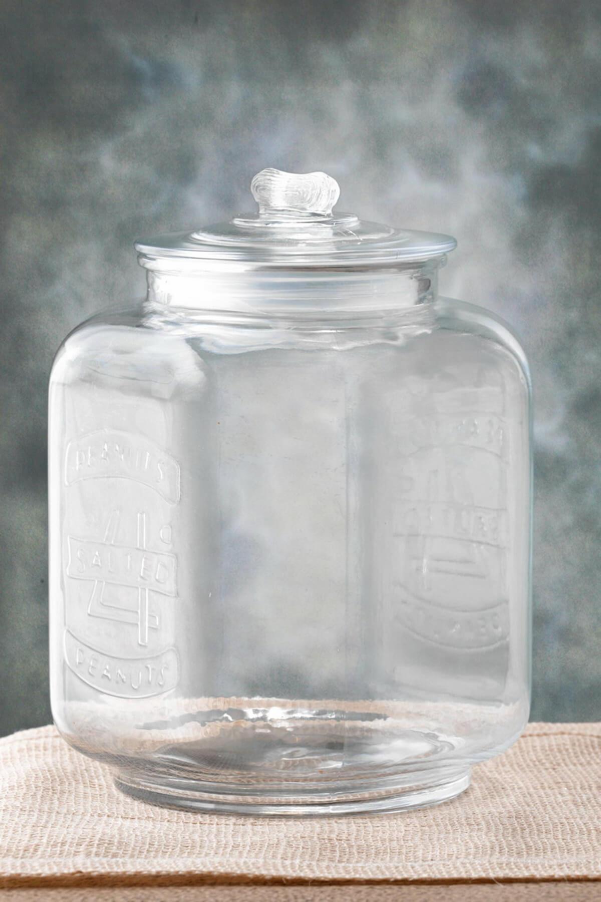 Glass Cookie Jar Medium 7 3 8 X 10in