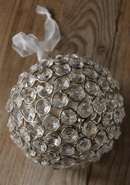 Glass Crystal Diamond 5 in. Balls