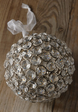 Glass Crystal Diamond 5 in. Balls