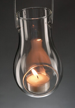 Sawyer Glass Hanging Tealight Candle Holders
