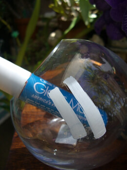 Chalk White Glass Marker 15mm