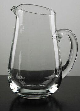 Glass Pitcher 7""