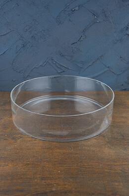 Clear Glass Terrarium Dish 3in x 12in