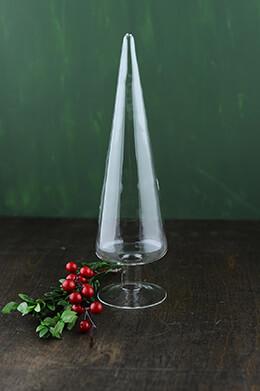 Glass Tree Finial 10in
