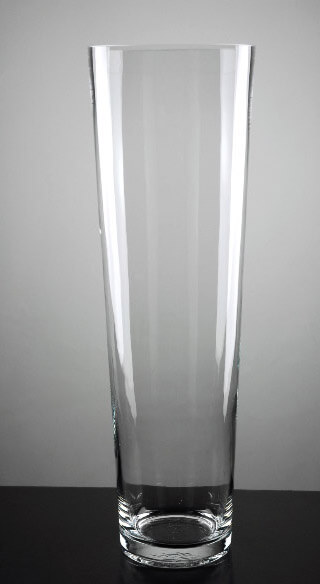 Glass Cylinder Vase 20in