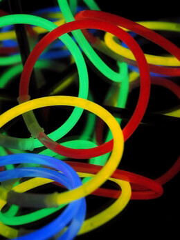 Glow Bracelets Assorted Colors | Pack of 25