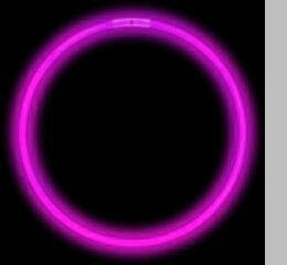 "Glow Necklaces 22"" Pink (8-10 hour glow)"