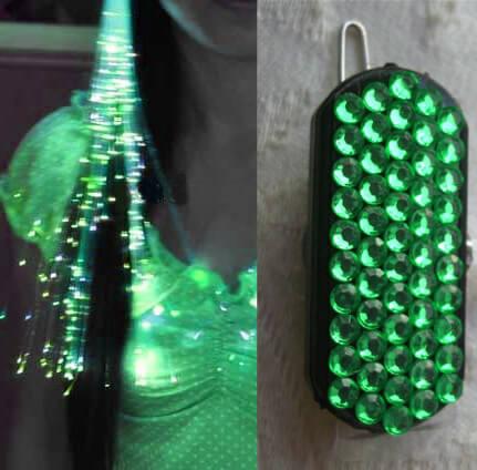 Glowbys Fiberoptic Light in Green