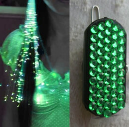 Glowbys Fiberoptic Light in Green