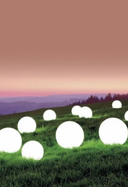Glowing Orbs - Glowing LED Spheres - LED balls - LED Cubes