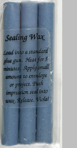Glue Gun Sealing Wax French Blue