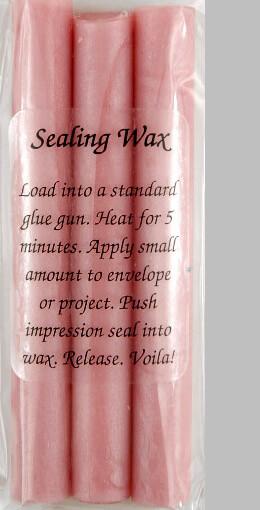Glue Gun Sealing Wax Pearl Pink