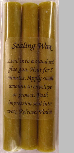 Glue Gun Sealing Wax Tropical Green