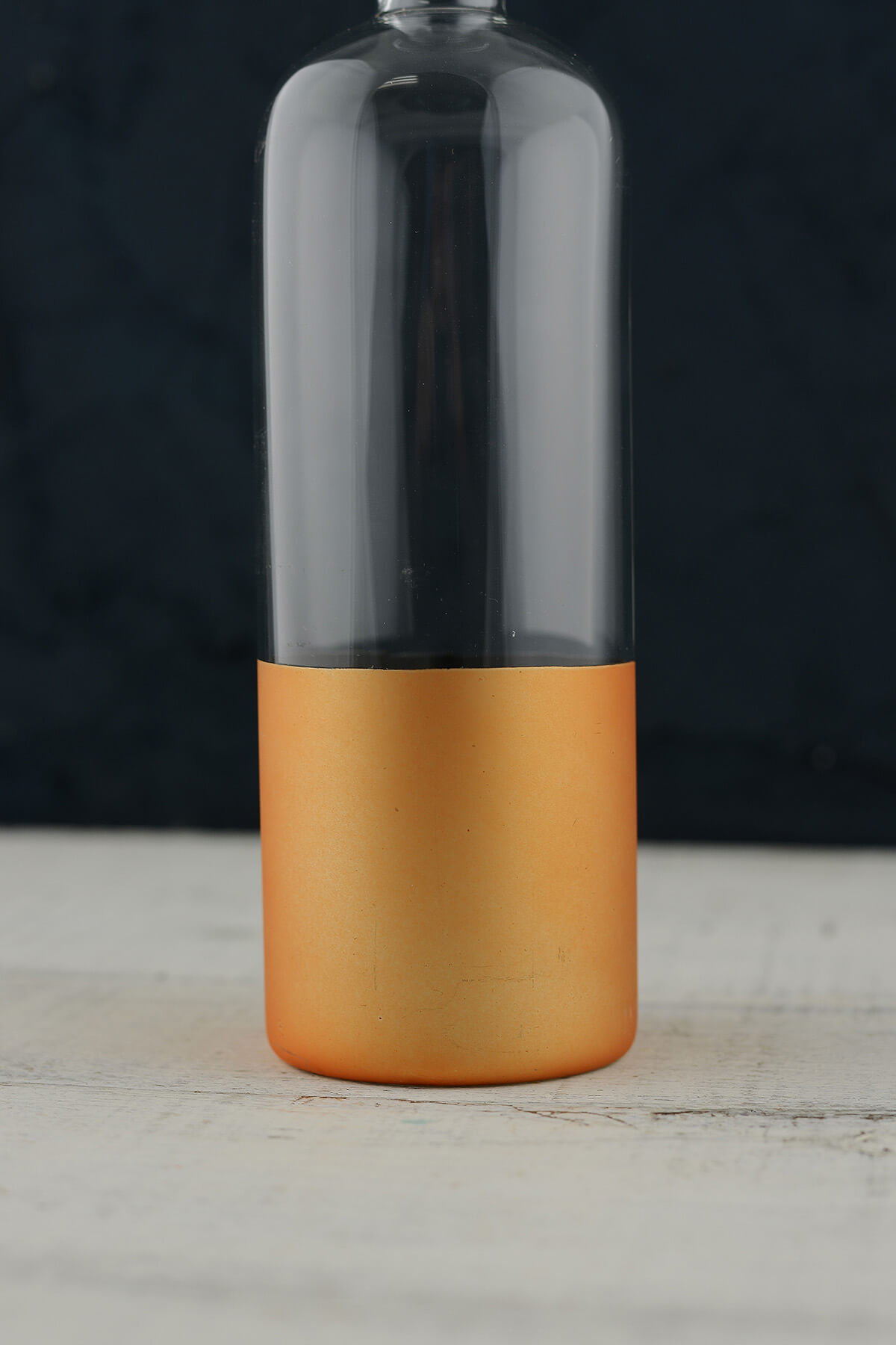 Gold Dipped Bottle 8.75in