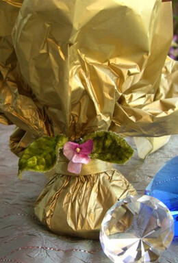 Metallic Gold Tissue Paper Sheets 20 x 26 (48 sheets)
