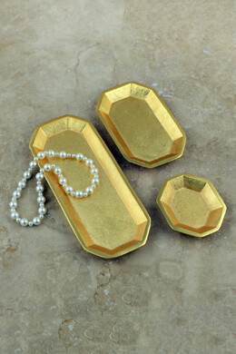 3 Gold Trays
