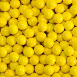 Golden Yellow Sixlets Favor Candy 14oz