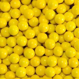 Golden Yellow Sixlets Favor Candy 14oz