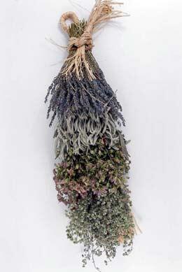 Culinary Herb Braid Lavender & Sage 20in