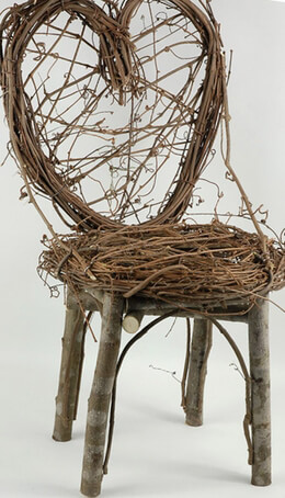 "Grapevine & Branch Chair (24"")"