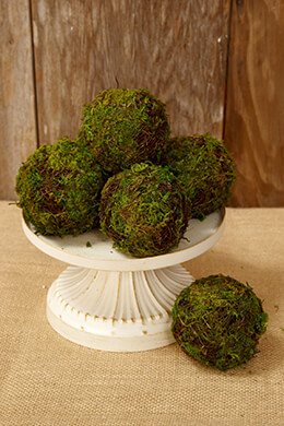 Grapevine Moss Ball 2.5in (Set of 6)