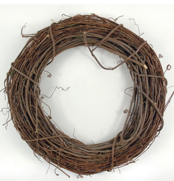 Grapevine Wreaths Natural 14in