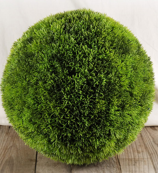 Large Faux Grass Balls 15