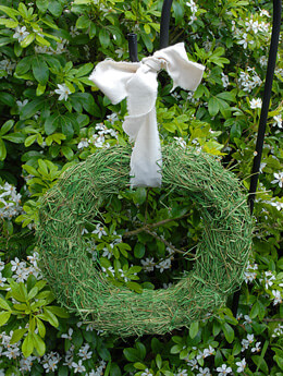 Grass Wreath 14in