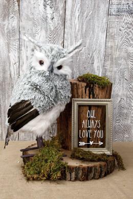 "15"" Gray Owl"