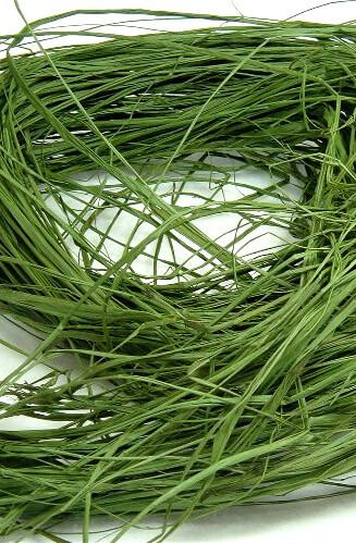 Green Raffia 1.4 ounce bag