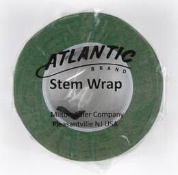 Green Floral Tape Atlantic Brand 1/2in x 30yds (Pack of 2)