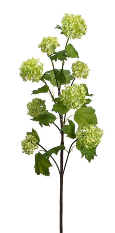 Artificial Viburnum Branch Green 32in