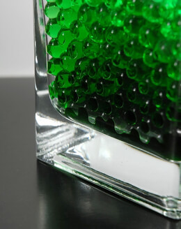 Green Water Pearls (water holding vase gems)