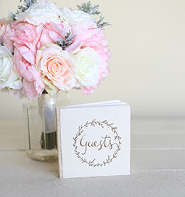 Rustic Chic Guest Book 5