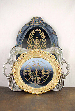 Hallet Mirror Trays (Set of 3)
