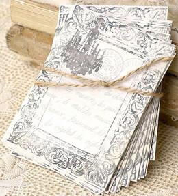 Handmade Chandelier Wedding Cards (24 cards)