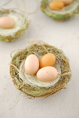 Hanging Bird Nest 4in (Pack of 3)