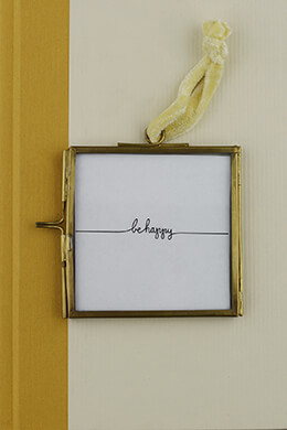 Hanging Double Glass Picture Frame 3in