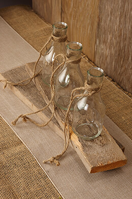 Hanging Glass Bottle Vase