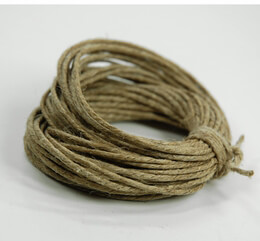 Hemp Cord 10yds - 48lb (Pack of 6)
