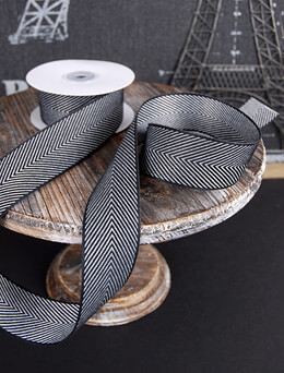"Herringbone Ribbon 1.5"" x 10yds"