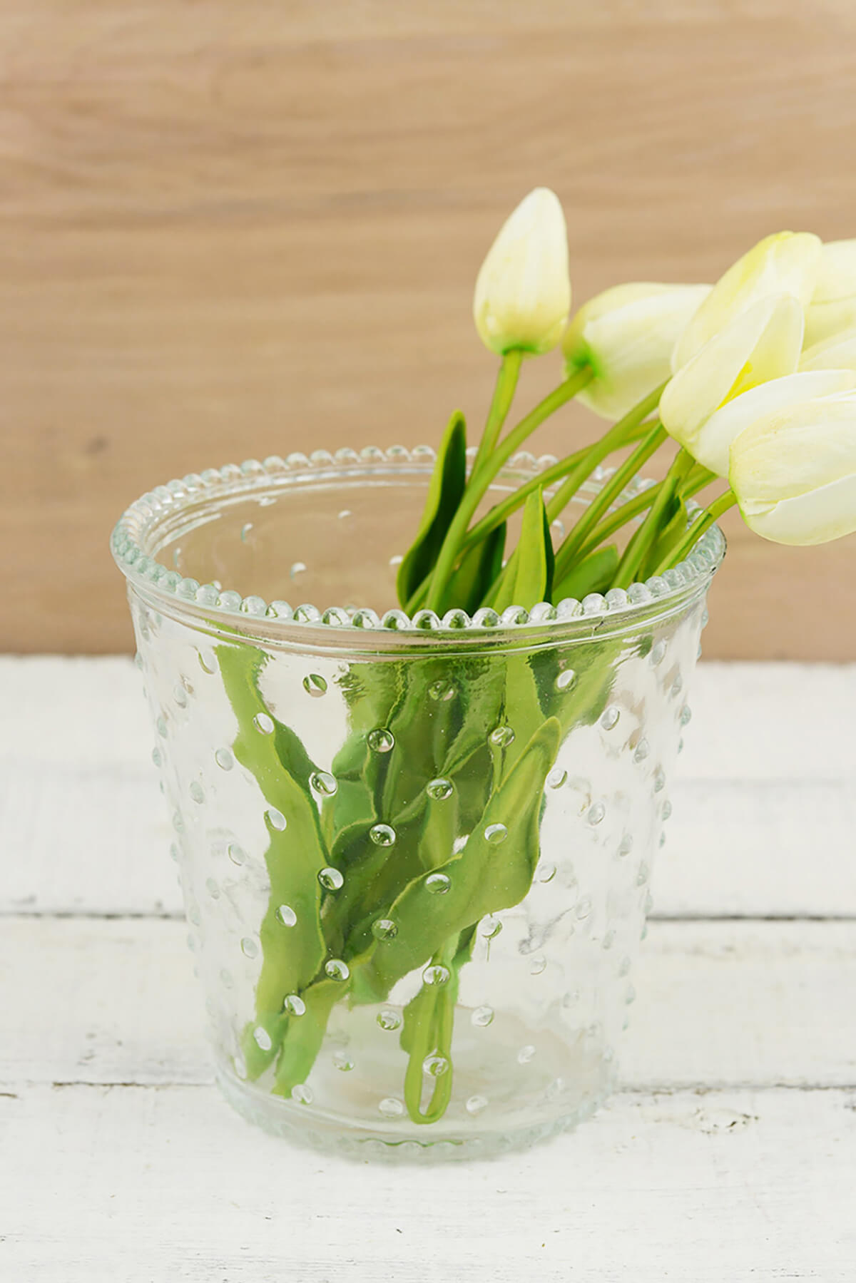 Hobnail Annie Votive Holder & Vase