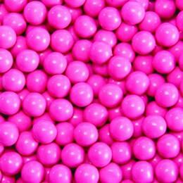 Hot Pink Sixlets Favor Candy 14oz