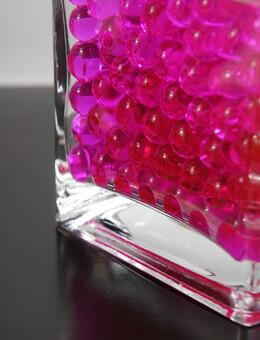 Liquid Vase Gems Pink