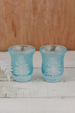 Hurricane Votive Holders (Set of 2)